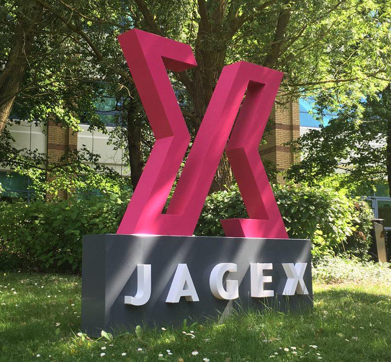 90 jagex external built up sign cambridge