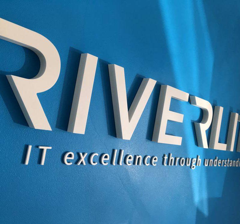 90 riverlite internal built up sign cambridge