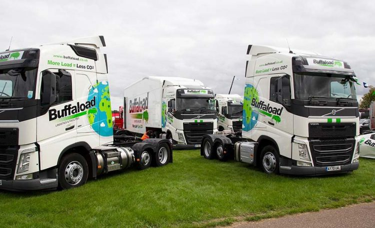 70 lorry cab buffaload vehicle graphics