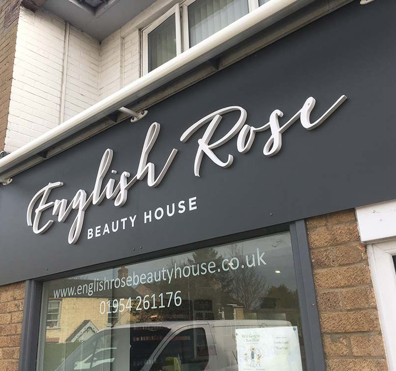 90 english rose beauty sign built up letters st ives